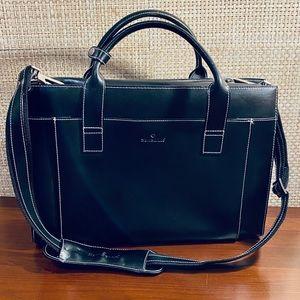 🌟2xHP🌟VTG Samsonite Black Leather Business Case